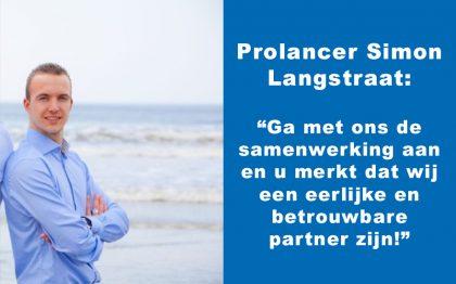 Prolancer Simon Langstraat