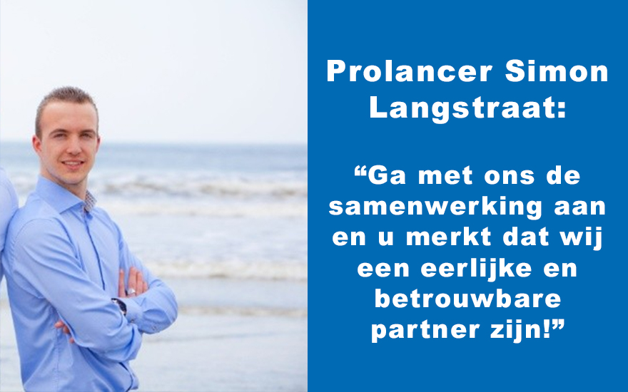 Prolancer Simon Langstraat